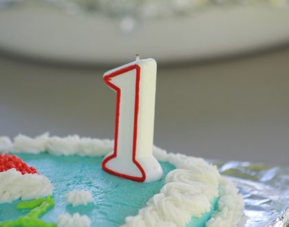 Our first birthday approaches…